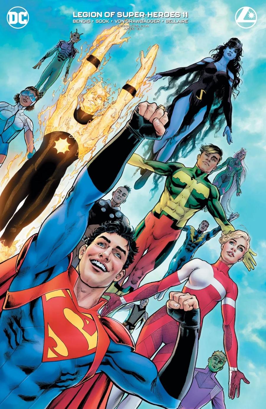 Legion of Superheroes #11 Review | The Aspiring Kryptonian